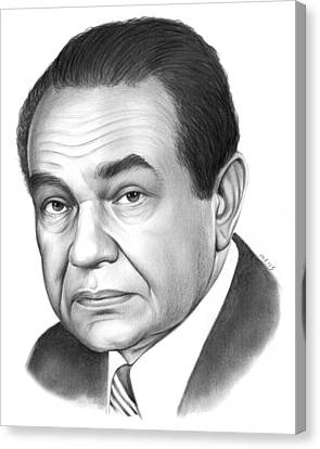Edward G. Robinson Canvas Print by Greg Joens