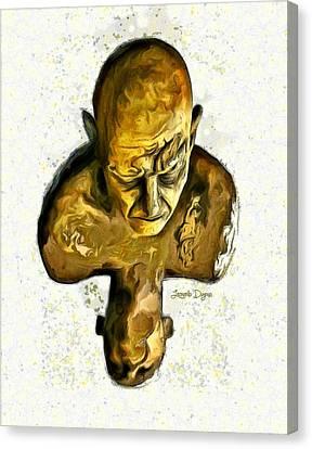 Effort - Da Canvas Print by Leonardo Digenio