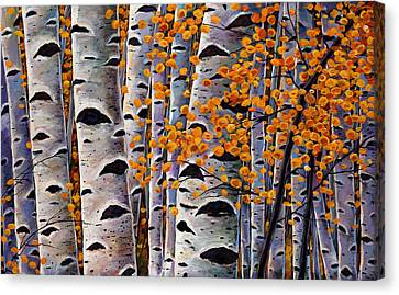 Effulgent October Canvas Print by Johnathan Harris