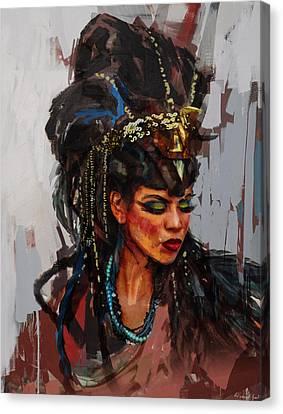 Egyptian Culture 26 Canvas Print by Maryam Mughal
