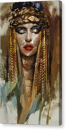 Egyptian Culture 4b Canvas Print by Mahnoor Shah