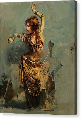 Egyptian Culture 7 Canvas Print by Maryam Mughal