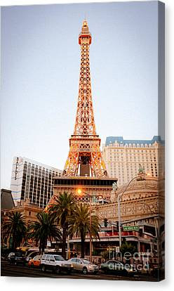 Eiffel Tower Nevada Canvas Print by Andy Smy