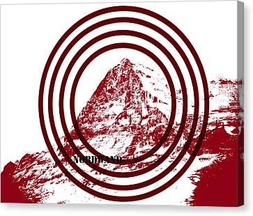 Eiger Nordwand Canvas Print by Frank Tschakert