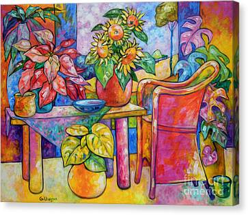 Eighteen Past Twelve Canvas Print by Ana Goldberger