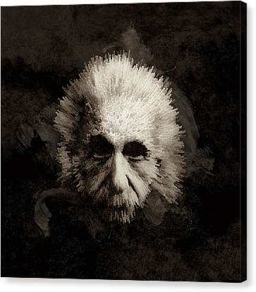 Einstein Canvas Print by Laurence Adamson