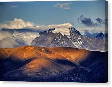 El Alto View 13 Canvas Print by Skip Hunt