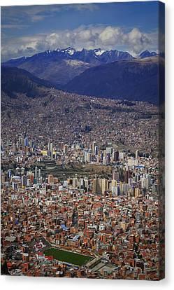 El Alto View 2 Canvas Print by Skip Hunt