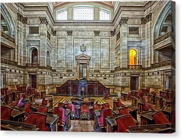 El Capitolio - Havana Canvas Print by Mountain Dreams