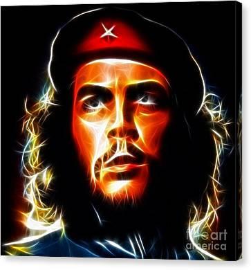 El Che Guevara Canvas Print by Pamela Johnson