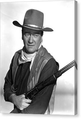 El Dorado, John Wayne,  1966 Canvas Print by Everett