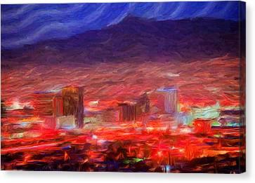 El Paso Canvas Print by Caito Junqueira