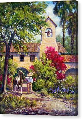 El Potro Canvas Print by Vickie Fears