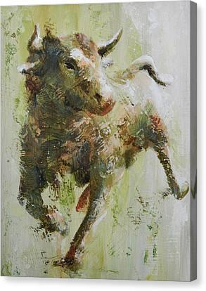El Toro Canvas Print by John Henne