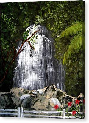 El Yunque  Canvas Print by Gloria E Barreto-Rodriguez