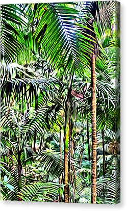 El Yunque Rainforest 2 Canvas Print by Carey Chen