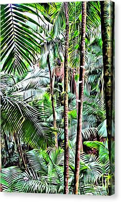 El Yunque Rainforest 3 Canvas Print by Carey Chen