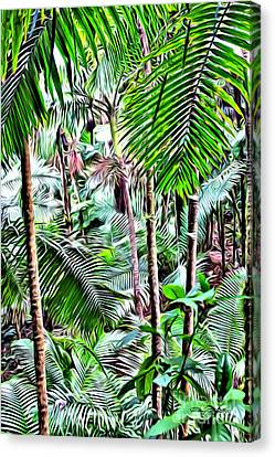 El Yunque Rainforest 5 Canvas Print by Carey Chen