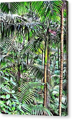 El Yunque Rainforest Canvas Print by Carey Chen