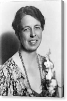 Eleanor Roosevelt 1884-1962 In July Canvas Print by Everett