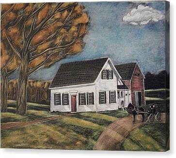Eleanor's House Canvas Print by Grace Keown