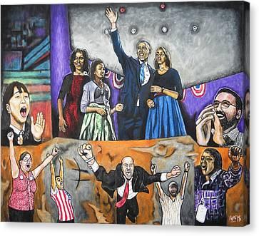 Presidential Election 2012 Canvas Print by Koffi Mbairamadji
