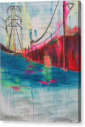 Electric Feel Canvas Print by Moby Kane