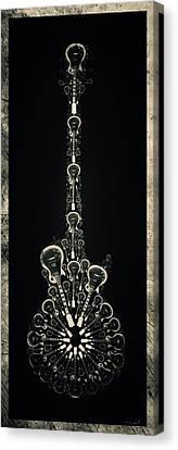 Electric Time Metal Canvas Print by Michael Spatola