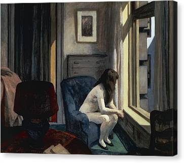 Eleven Am Canvas Print by Edward Hopper