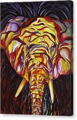 Eli Canvas Print by Carolyn LeGrand