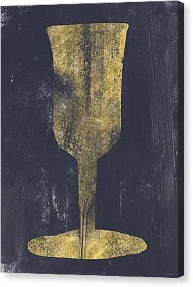 Elijah's Cup - Art By Linda Woods Canvas Print by Linda Woods