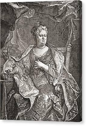 Elisabeth Charlotte Princess Palatine Canvas Print by Vintage Design Pics