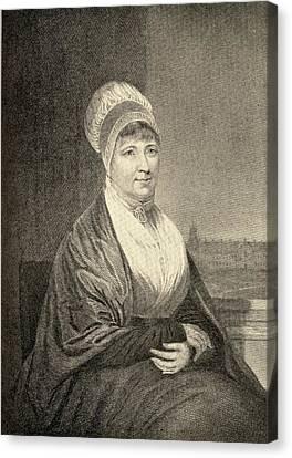 Elizabeth Fry, 1780-1845. English Canvas Print by Vintage Design Pics