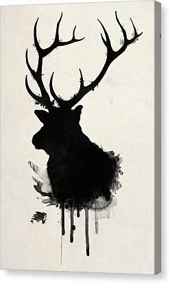 Elk Canvas Print by Nicklas Gustafsson