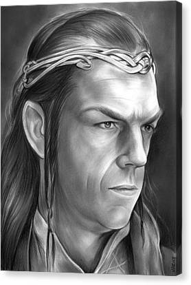 Elrond Canvas Print by Greg Joens