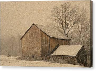 Elverson Barn Canvas Print by Trish Tritz