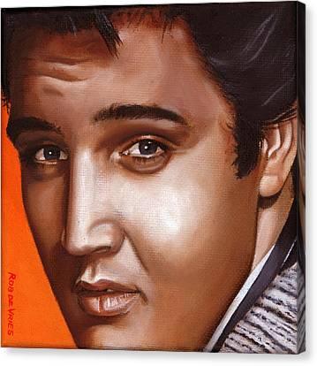 Elvis 24 1957 Canvas Print by Rob De Vries