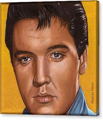 Elvis 24 1965 Canvas Print by Rob De Vries