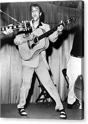 Elvis Presley, C. Mid-1950s Canvas Print by Everett