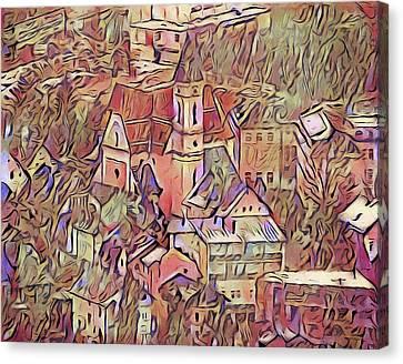 Elz, Germany Canvas Print by Susan Maxwell Schmidt