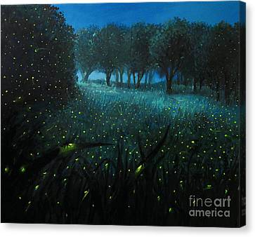 Ember Of Life Canvas Print by Kiril Stanchev