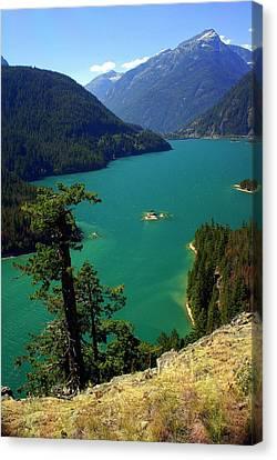 Emerald Lake Canvas Print by Marty Koch