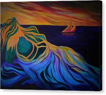 Emergence Canvas Print by Carolyn LeGrand