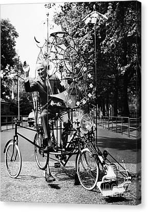 Emett: Lunacycle, 1970 Canvas Print by Granger