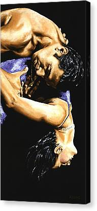Emotional Tango Canvas Print by Richard Young