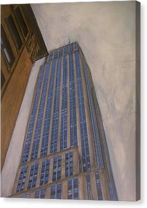 Empire State Building 2 Canvas Print by Anita Burgermeister