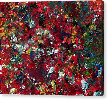 Enamel 1 Canvas Print by James W Johnson