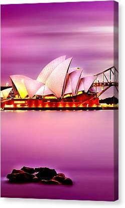 Enchanted Opera Canvas Print by Az Jackson