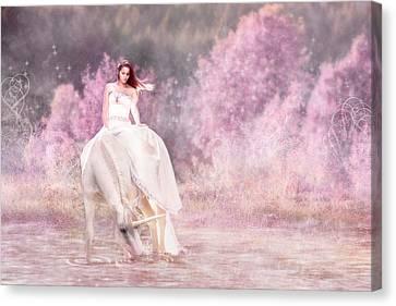 Enchanted  Canvas Print by Pamela Hagedoorn