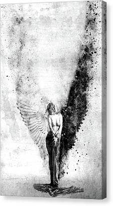 End Of Innocence Canvas Print by Jacky Gerritsen